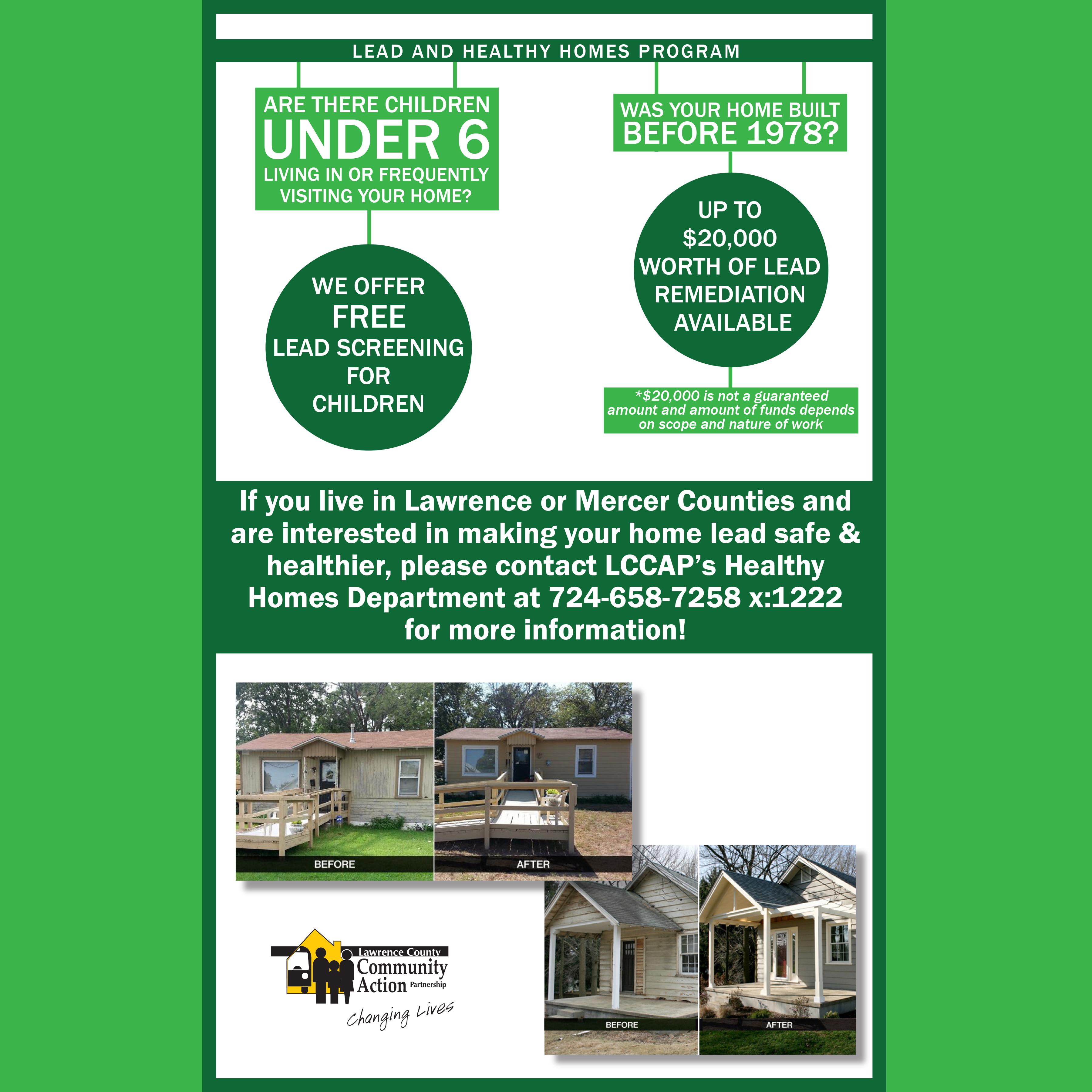 Pa Lead Healthy Homes Program